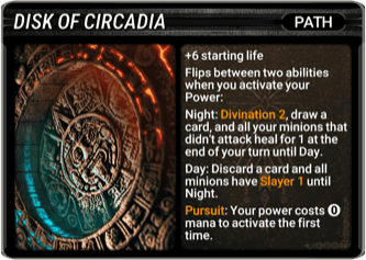 Disk of Circadia Card Image