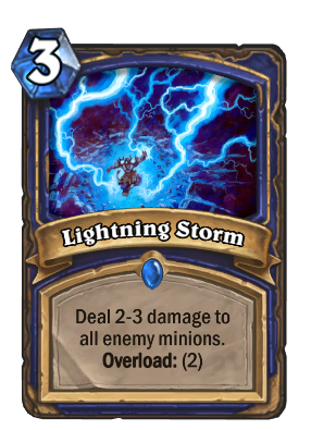 Lightning Storm Card Image