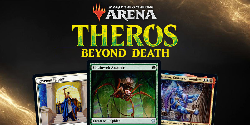 MTG Arena - Theros: Beyond Death Card Spoilers January 1