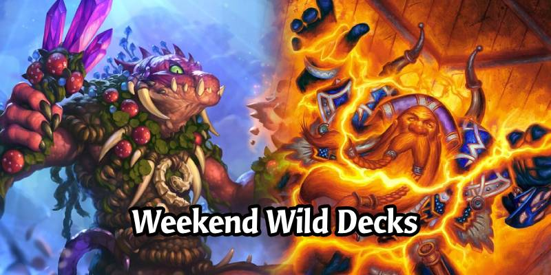 Weekend Wild Hearthstone Decks - Beast Hunter, Highlander Shaman, Budget OTK Priest, & More