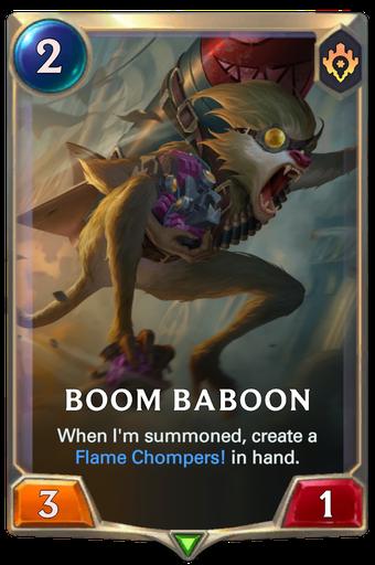 Boom Baboon Card Image