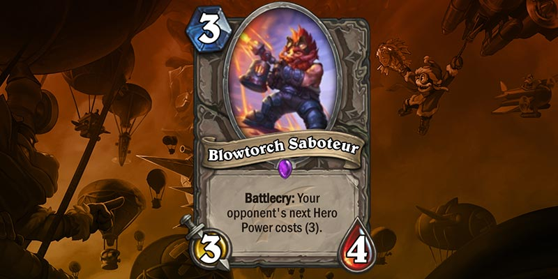 Card Reveal - Blowtorch Saboteur