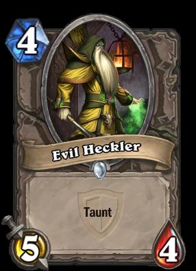 Evil Heckler Card Image