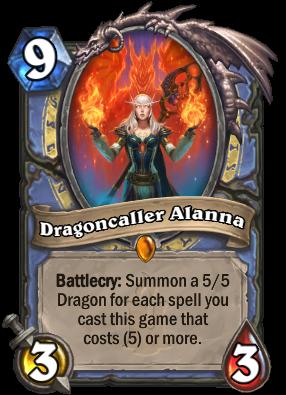 Dragoncaller Alanna Card Image