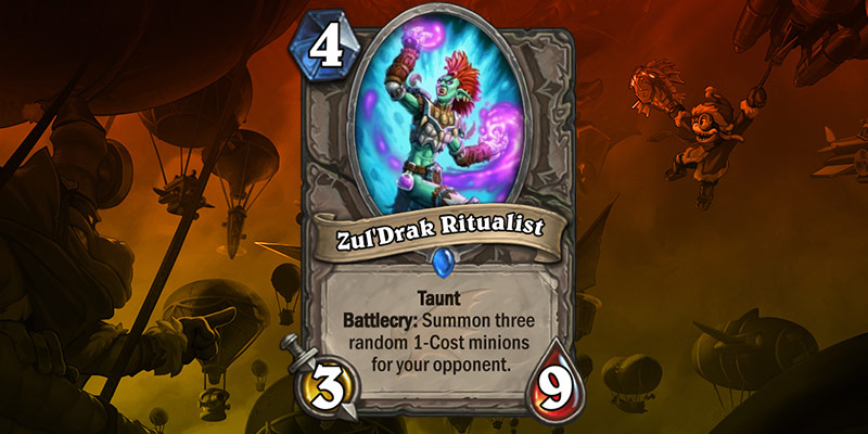 New Card Reveal - Zul'Drak Ritualist