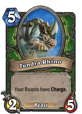 Tundra Rhino Card Image