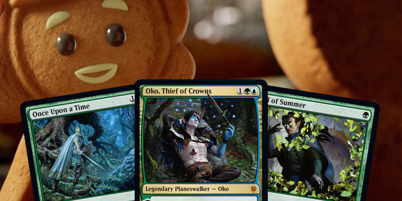 MTG Arena Bans Announced - Oko, Once Upon a Time, Veil of Summer All Banned in Standard