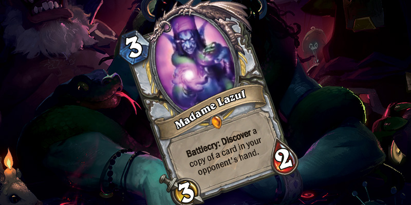 Priest Legendary Reveal - Madame Lazul