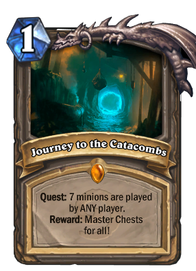 Journey to the Catacombs Card Image
