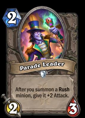 Parade Leader Card Image
