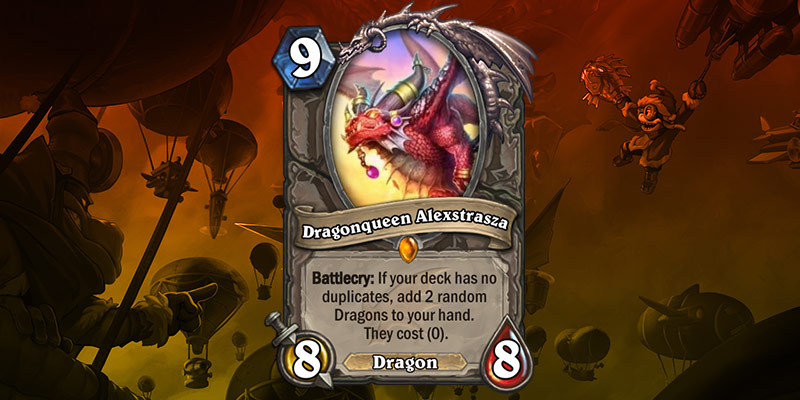 Legendary Card Reveal - Dragonqueen Alexstrasza