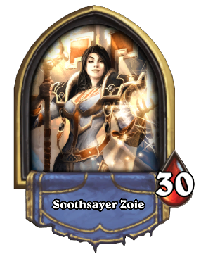 Soothsayer Zoie Card Image