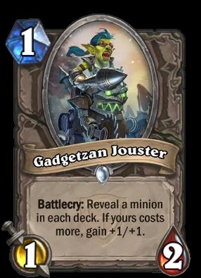 Gadgetzan Jouster Card Image