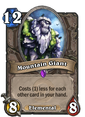 Mountain Giant Card Image