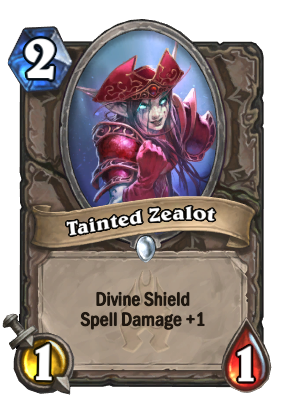 Tainted Zealot Card Image