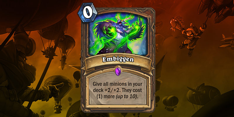 Epic Druid Card Reveal - Embiggen