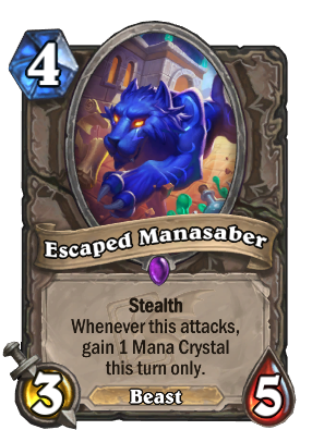 Escaped Manasaber Card Image