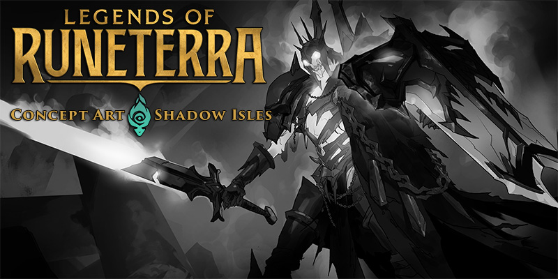 Legends of Runeterra Concept Art Spotlight - Shadow Isles