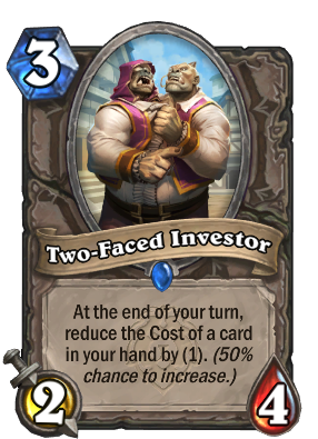 Two-Faced Investor Card Image