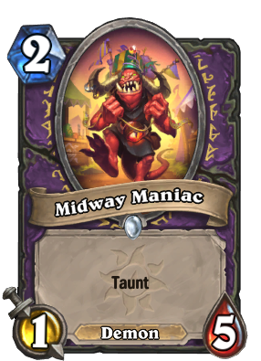 Midway Maniac Card Image