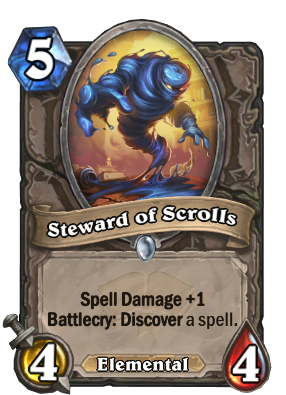Steward of Scrolls Card Image