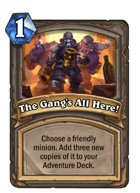 The Gang's All Here! Card Image