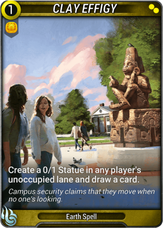 Clay Effigy Card Image