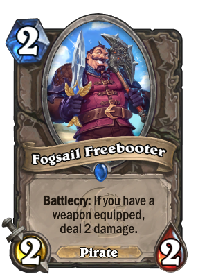 Fogsail Freebooter Card Image