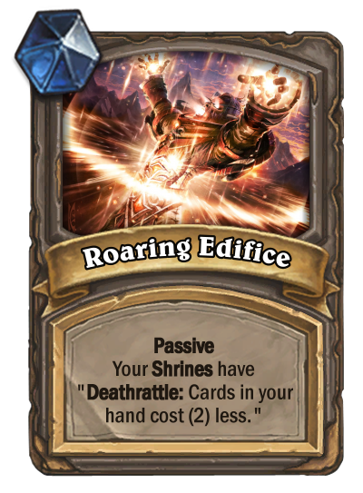 Roaring Edifice Card Image