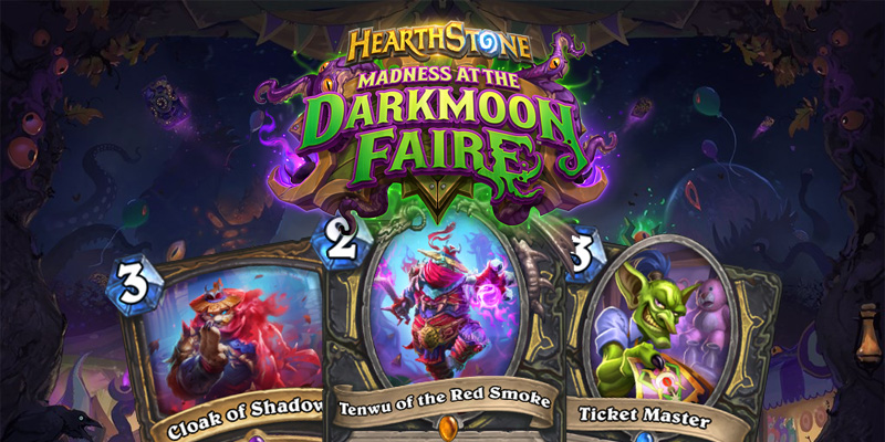 Our Thoughts on Hearthstone's Madness at the Darkmoon Faire Rogue Cards
