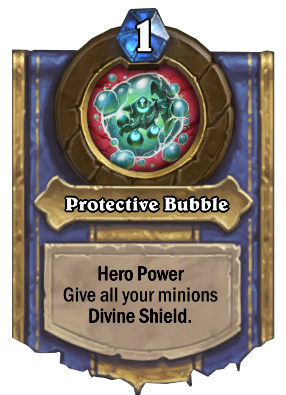 Protective Bubble Card Image