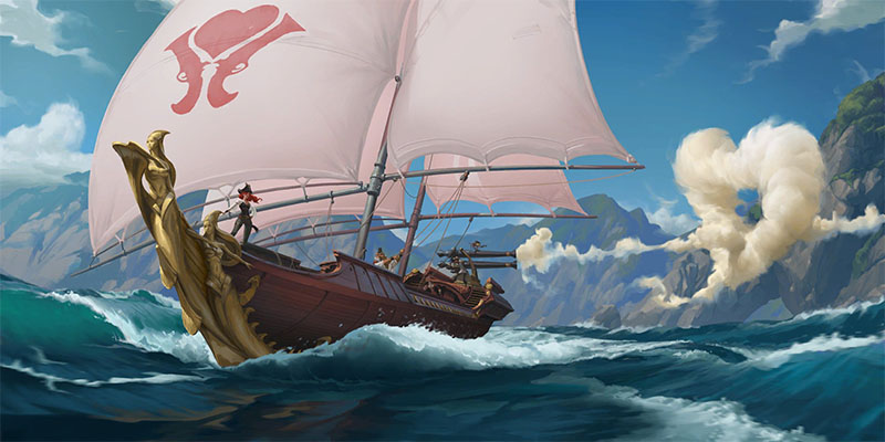 The Final Bilgewater Champion Teaser for Rising Tides - Who is the Captain?