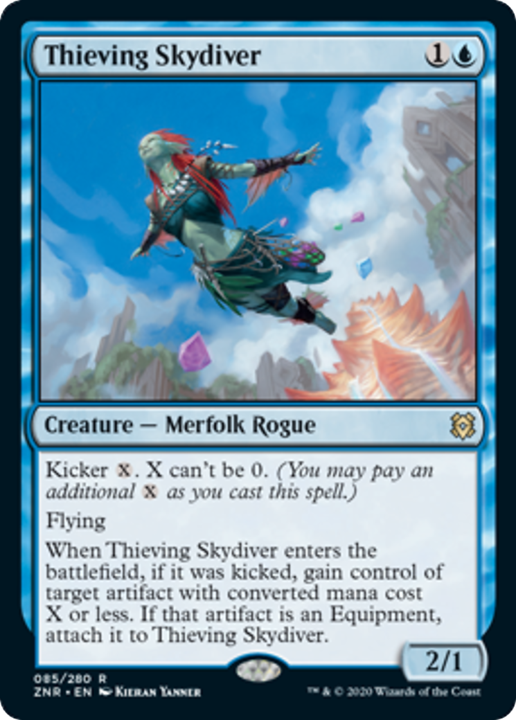 Thieving Skydiver Card Image