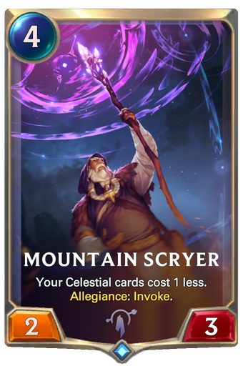 Mountain Scryer Card Image