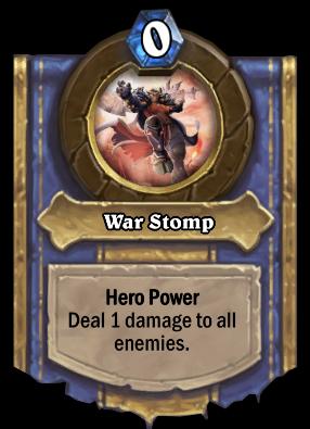 War Stomp Card Image