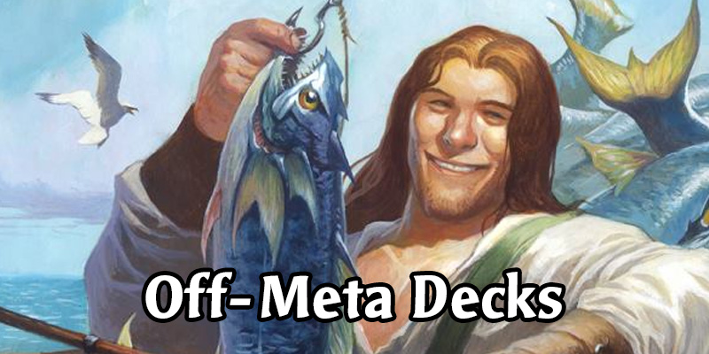 Fishing Up Off-Meta Hearthstone Decks to Spice Up Your Climb