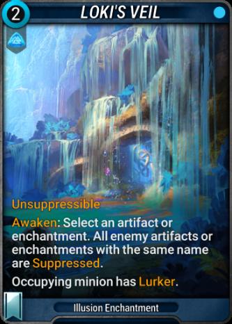 Loki's Veil Card Image
