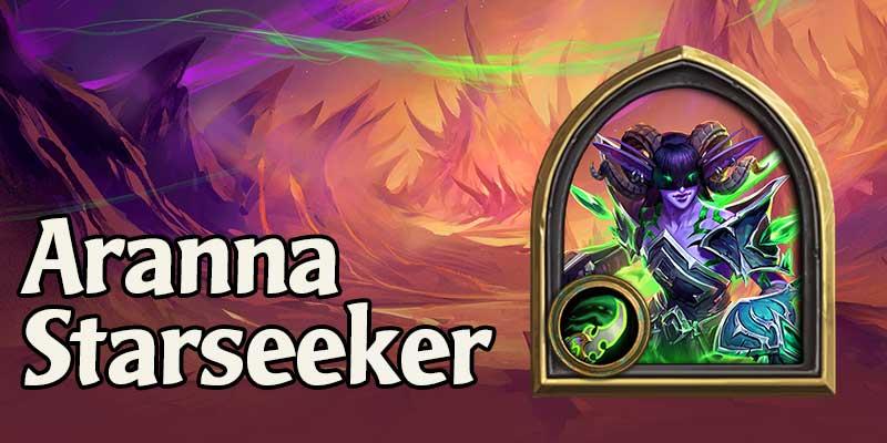 An Early Preview of Hearthstone's New Demon Hunter Hero - Aranna Starseeker