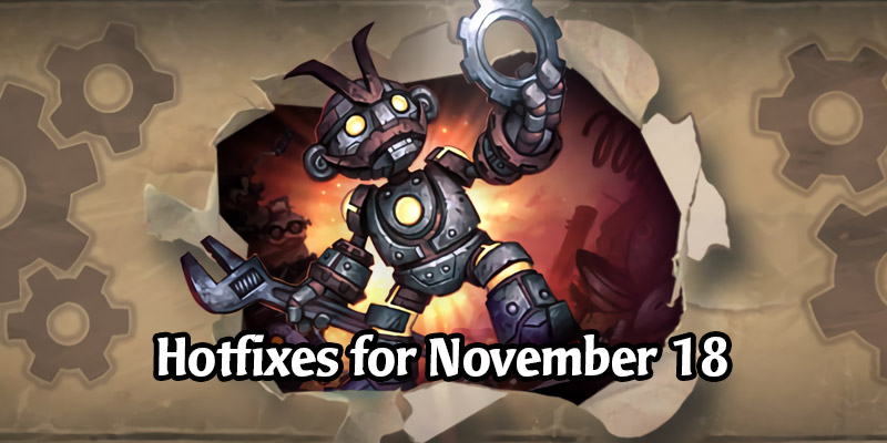 Hearthstone Hotfixes - Weekly Quest Fixes, Duels Now Contributes to Class Progress, Heroic Duels Rating Fix