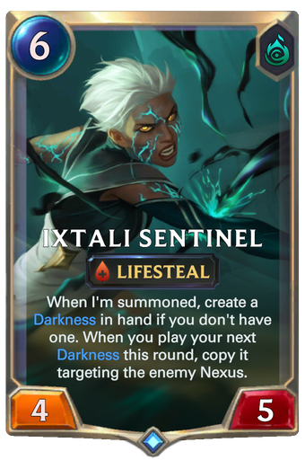 Ixtali Sentinel Card Image