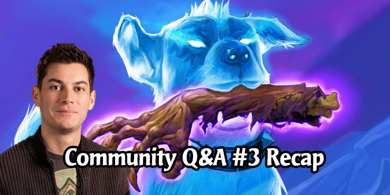 Dean Ayala's Community Q&A #3 - New Classes, Champion Cards, New Achievements, Spell Tribals
