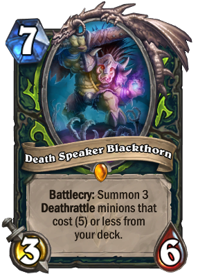 Death Speaker Blackthorn Card Image