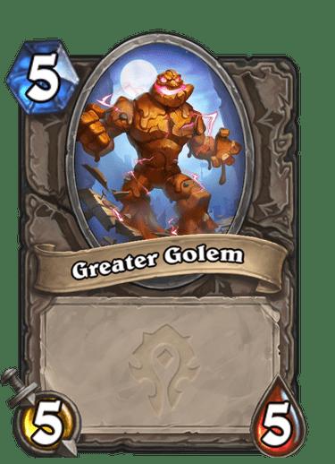Greater Golem Card Image