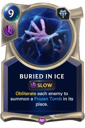Buried in Ice Card Image