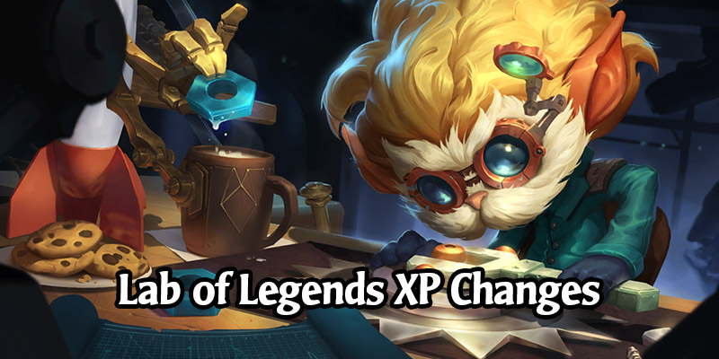 Runeterra's Lab of Legends Gets More Experience Changes - Riot Comments