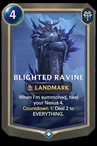 Blighted Ravine Card Image