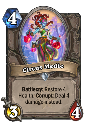 Circus Medic Card Image