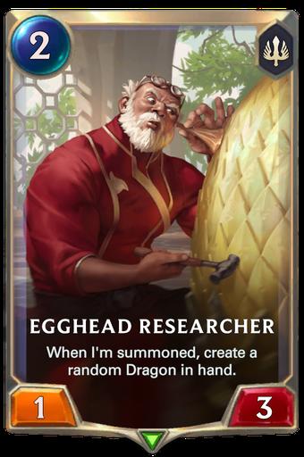 Egghead Researcher Card Image