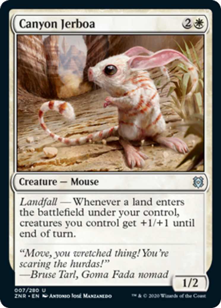 Canyon Jerboa Card Image