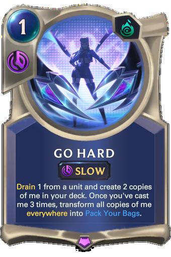 Go Hard Card Image